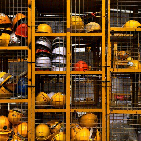 Hard Hats in Lockers   BBF Industrial - Bolts, Fasteners, Tools & Equipment - Bathurst, Orange, Dubbo