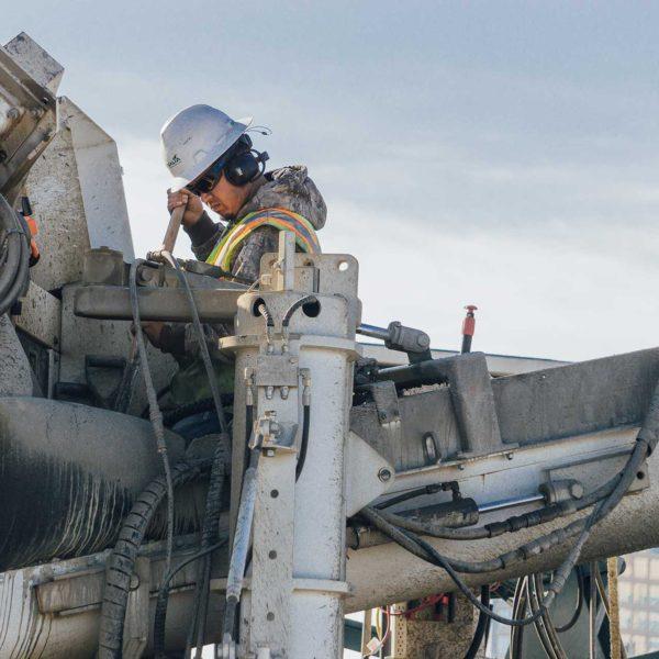 Worker on Asphalt Machine   BBF Industrial - Bolts, Fasteners, Tools & Equipment - Bathurst, Orange, Dubbo